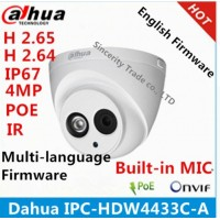 Dahua IPC-HDW4433C-A 4MP (ЗВУК)