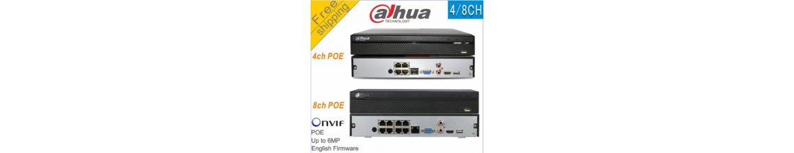 Dahua NVR2108HS-8P-S2 8CH POE NVR Network Video Recorder