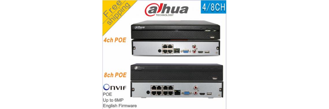 Dahua NVR2108HS-8P-S2 8CH POE NVR Network Video Recorder